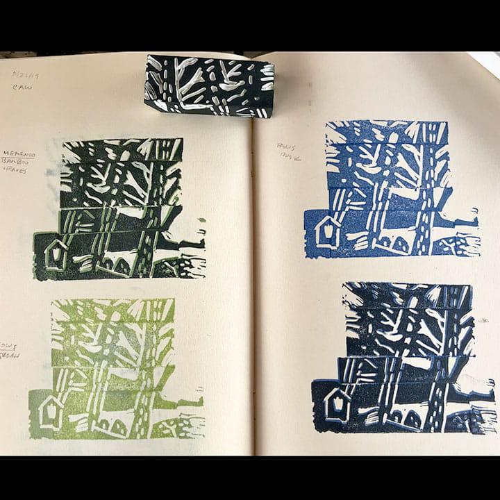 Expressed: Hand-pressure printmaking