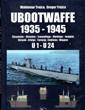 UBOOTWAFFE 1935-1945 U1 - U24: CHRONICLES, VICTORIES, CAMOUFLAGE, MARKINGS, INSIGNIA