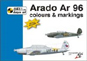 ARADO AR 96 COLOURS & MARKINGS 1:48 OR 1:72 DECALS YOUR CHOICE