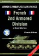 ARMOUR CAMOUFLAGE AND MARKINGS OF THE FRENCH 2ND ARMORED DIVISION IN WW2