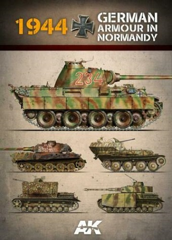 1944 GERMAN ARMOUR IN NORMANDY