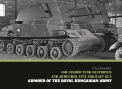 40M NIMROD TANK DESTROYER AND ARMOURED ANTI AIRCRAFT GUN