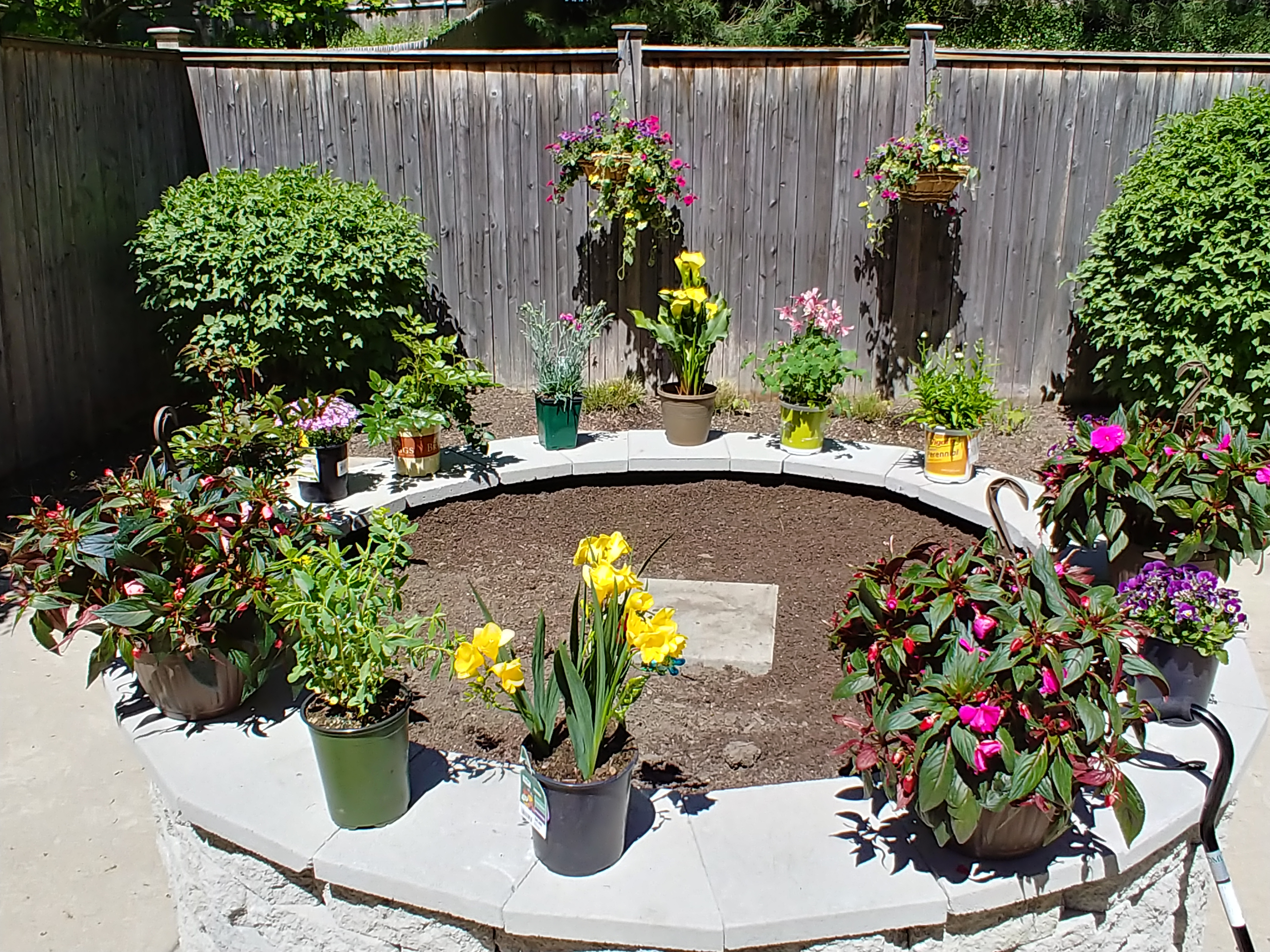 Highlands resident garden