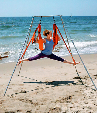 The OmGym Suspension System Stand