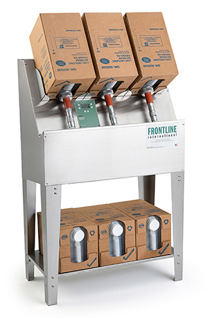 Frontline International Redesigns EZ Oil™ Fresh Oil Dispensing System