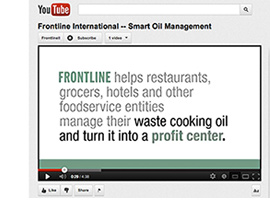 See for Yourself: Frontline's Smart Oil Management System Now Featured in YouTube Video