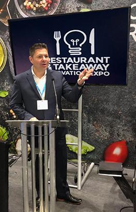 Frontline International VP Speaks at Restaurant & Takeaway Expo