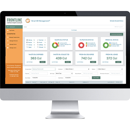 Frontline International Redesigns M3 System Web Interface