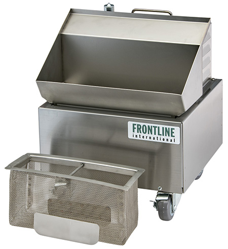 Frontline International Redesigns Heated Grill Grease System