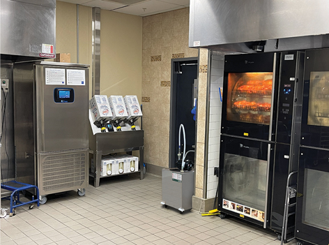 Frontline International Introduces  Direct Plumb® Oven System