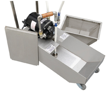 Frontline International Offers a Two-in-One Caddy System to Handle and Filter Used Cooking Oil