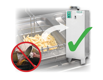 Reduce Costly Grease-Related Accidents in the Kitchen with Solutions  from Frontline International