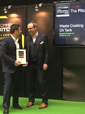 Frontline International's Waste Oil Management System Receives Innovation Award