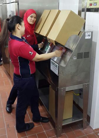 Frontline International Installs First Cooking Oil Management Equipment in the GCC Region