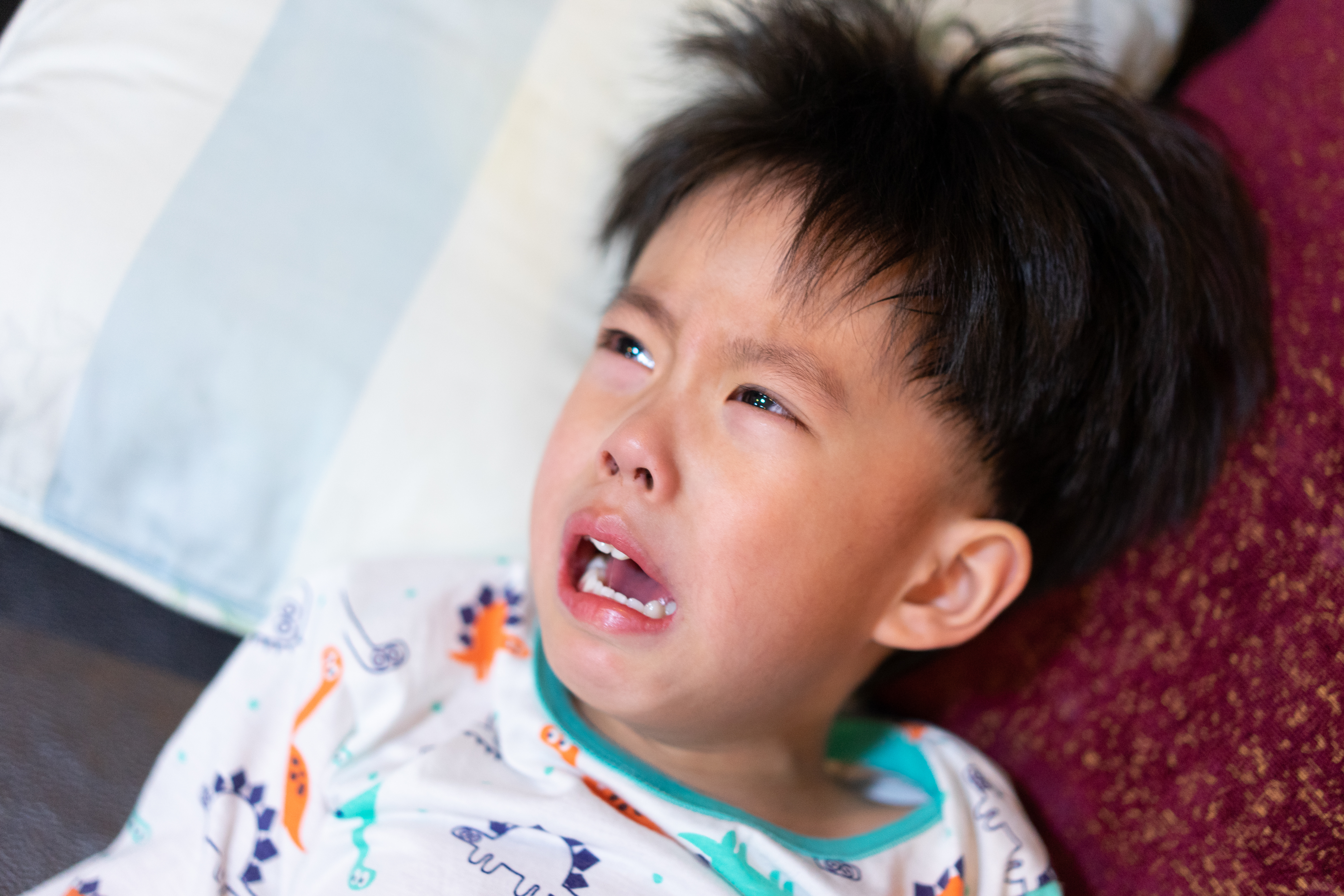 18 month old toddler tantrums with hitting & head banging