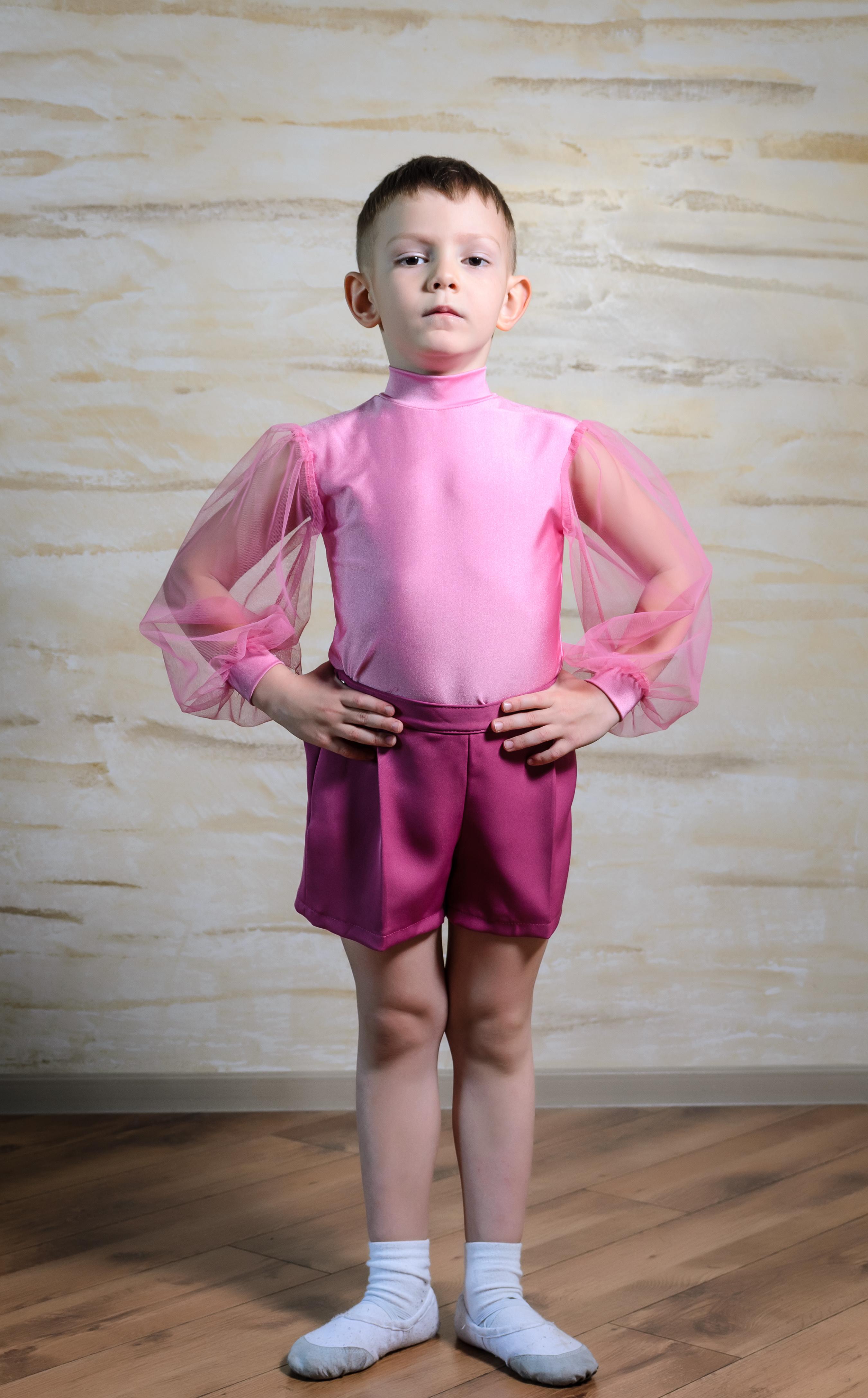 4 year old boy prefers girly clothing