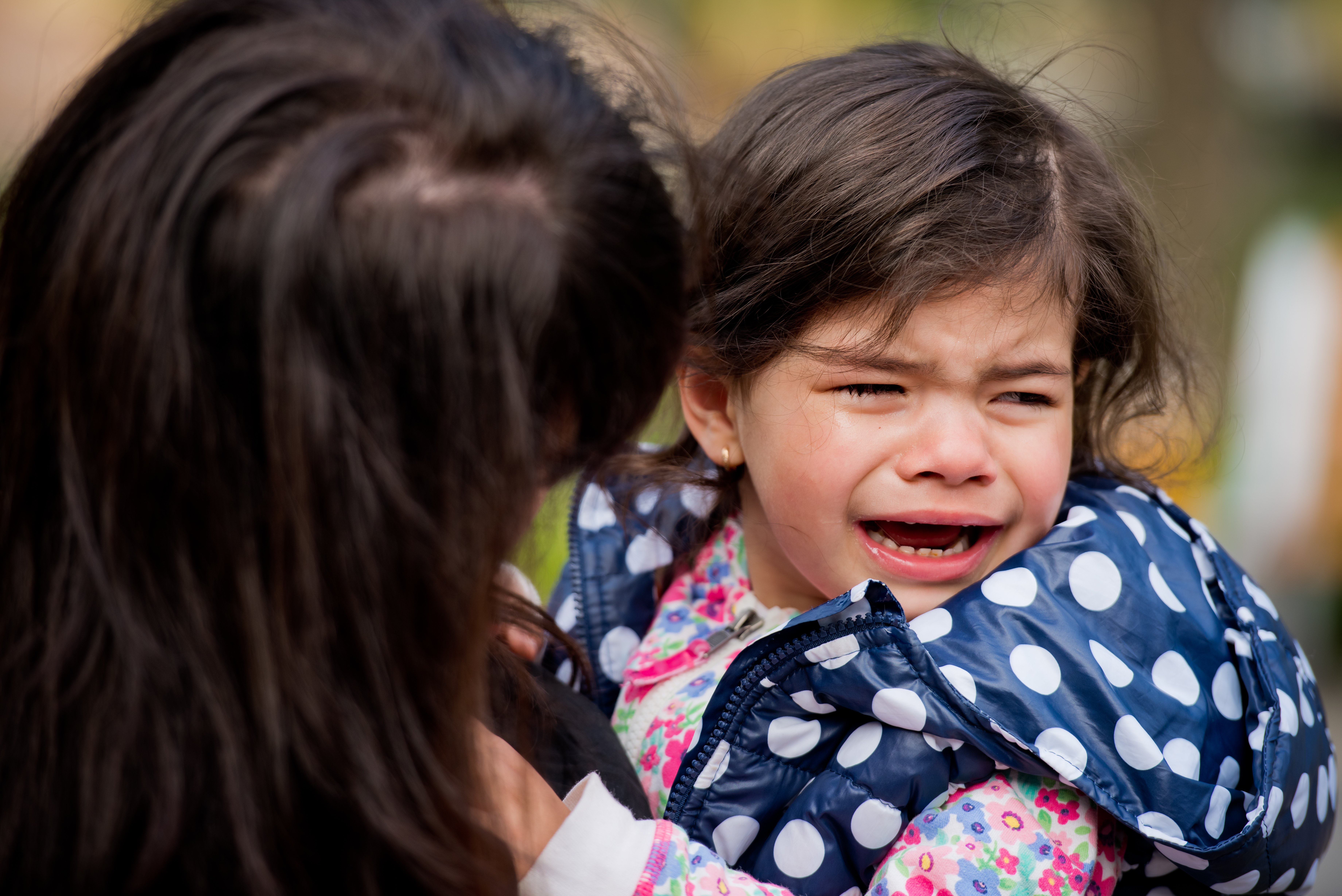 Whining, Tantrums in almost-2 year old -- Does she just need to cry?