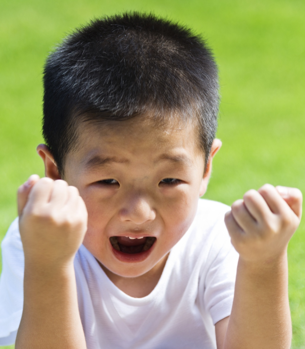 When Your Child Acts Out but Can't Cry: Building Safety