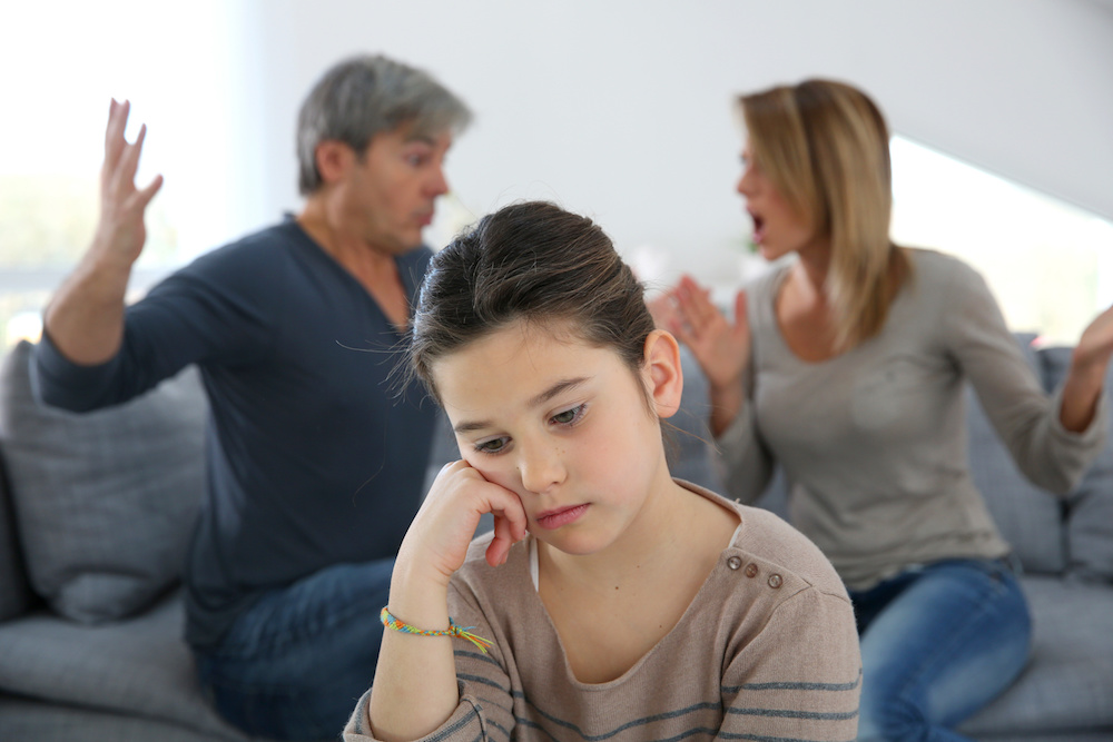 How To Do Damage Control When You Fight In Front of Your Kids