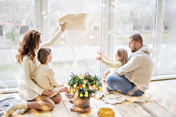 New Year's Traditions for Families