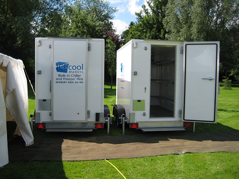 fridge and freezer trailers, mobile cool rooms to hire