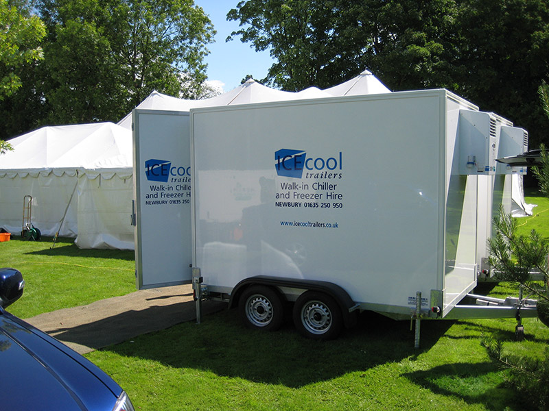 fridge trailer hire by Ice Cool