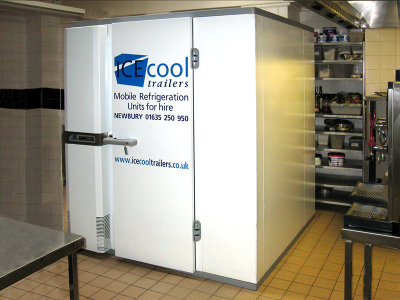 modular cold room by Icecool Trailers