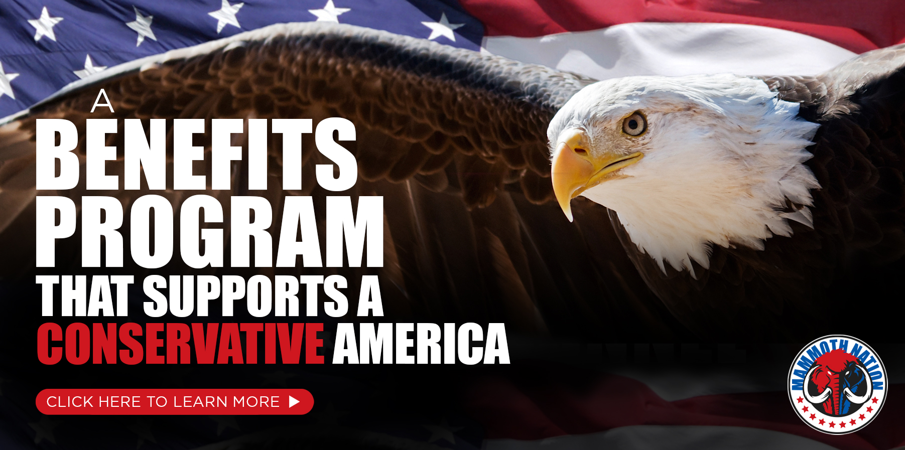 A benefit program that supports a conservative America