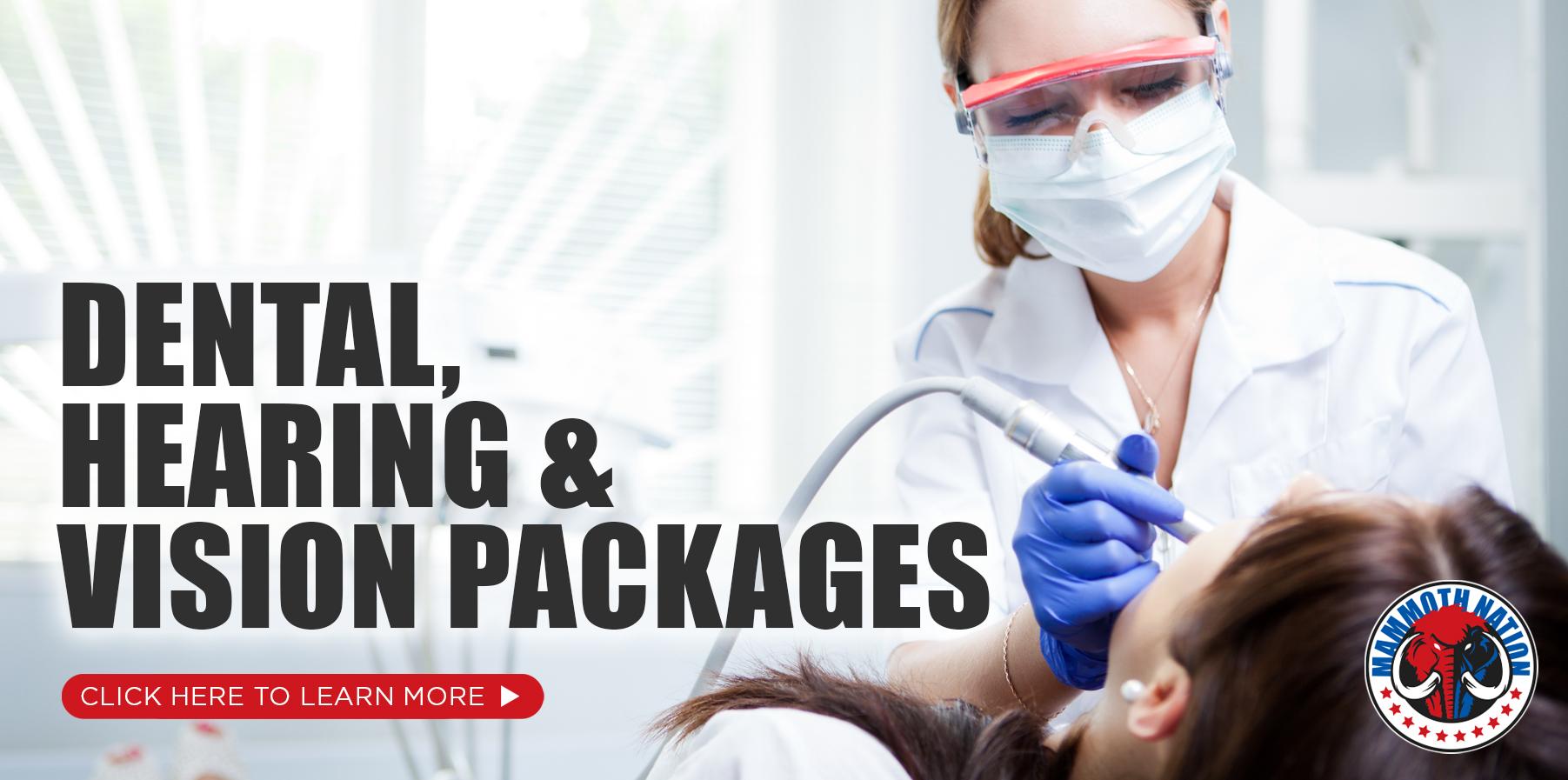 Dental and Hearing Discounts