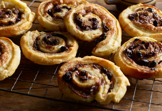 Danish Cinnamon Swirls