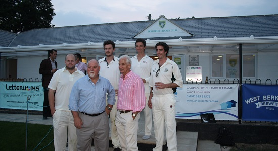 Bradfield Cricket Club's New Pavilion
