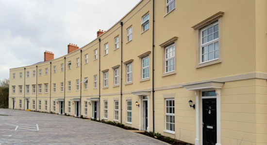 Carpentry for 200 new homes at North Stoneham Park, Eastleigh