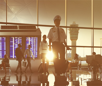 tax accounting for pilots, airline industry
