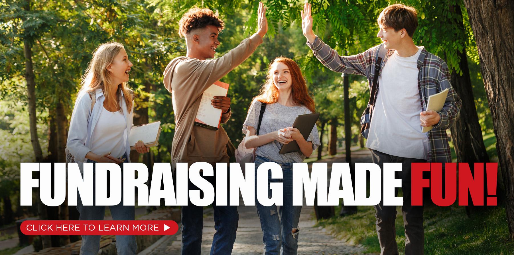 Fund raising made fun