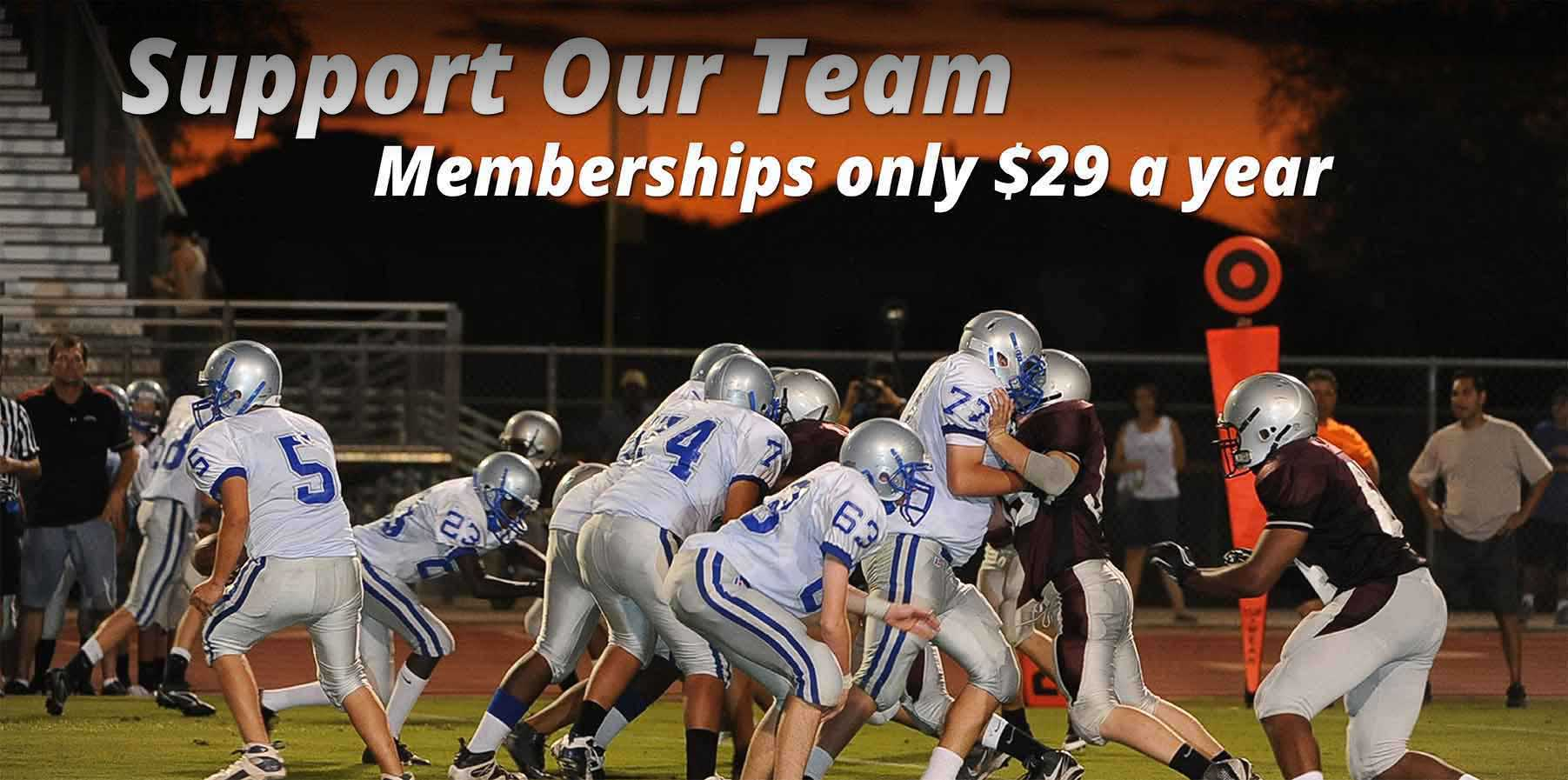Support Our Team